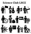logo science club lhce